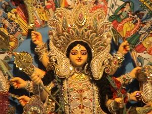 22-Maa Durga face
