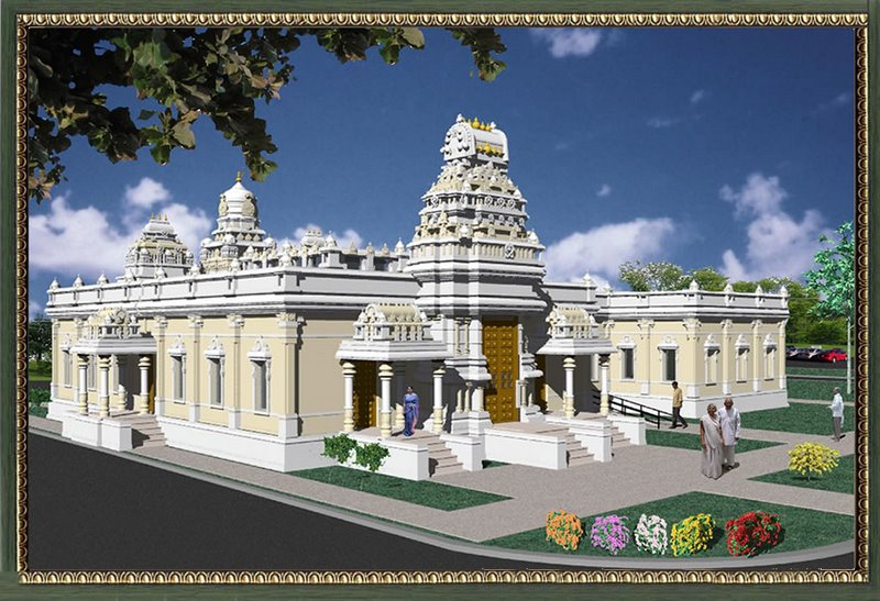 Indian Temples Abroad   Love is in the Air